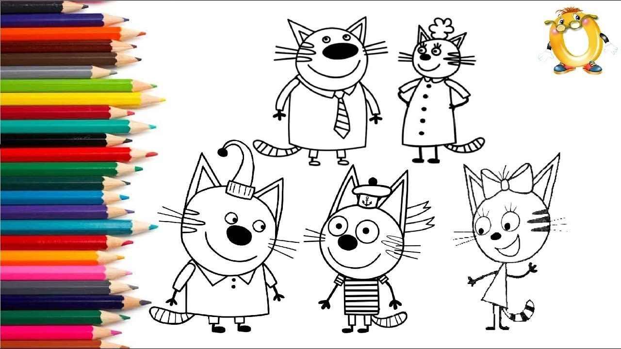 Рисунки карандашом животные из мультиков 11