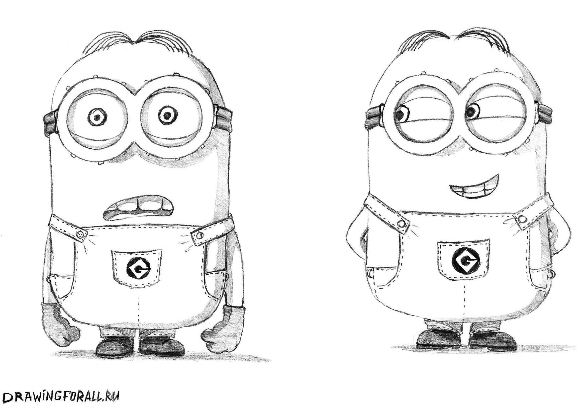 Рисунки карандашом животные из мультиков 22