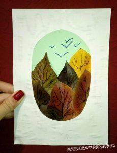 Рисунки листев для детей 21