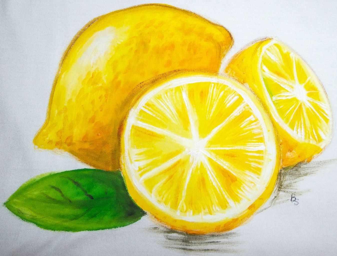 Рисунок Половинка апельсина для срисовки 05