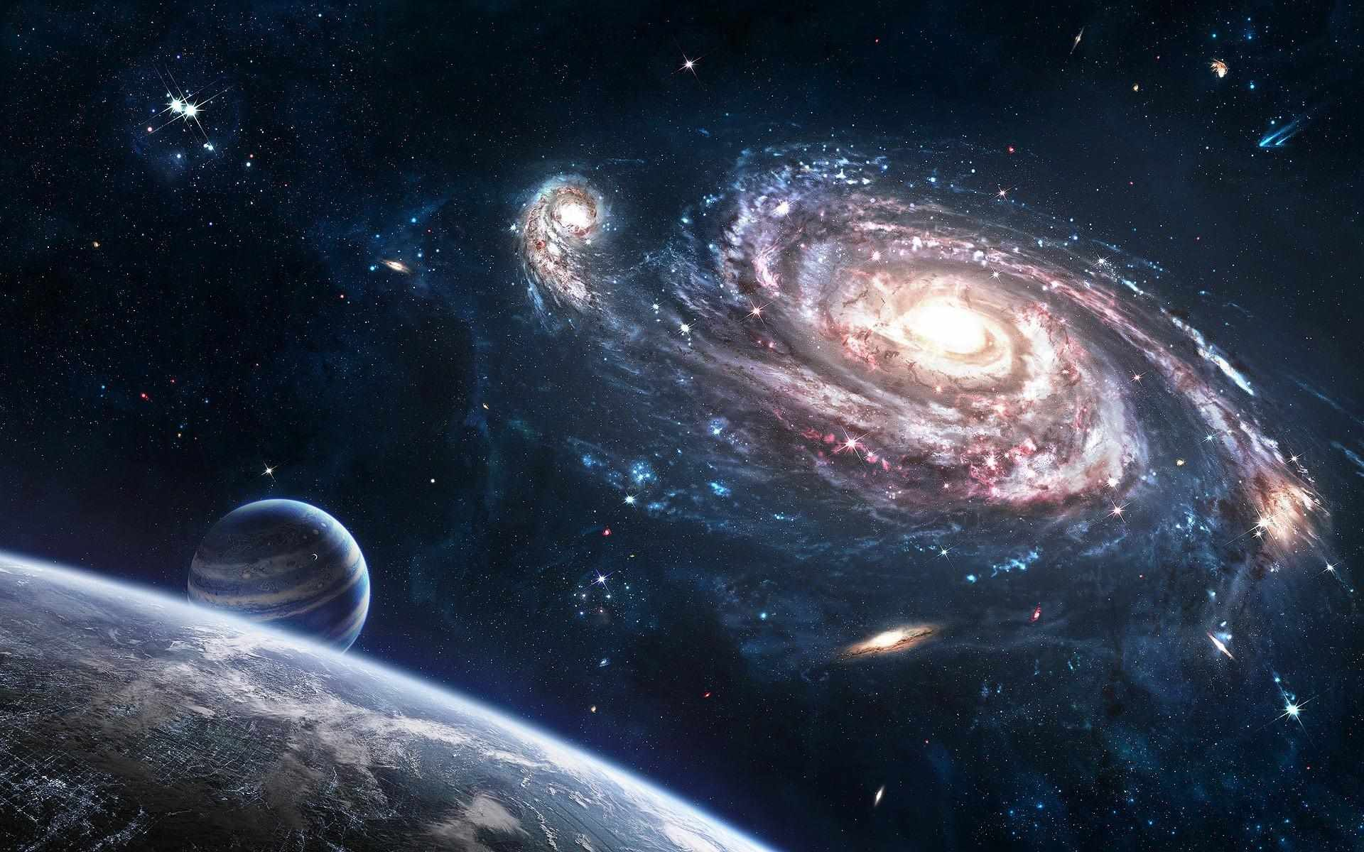 Скачать картинки космоса красивые для срисовки 04