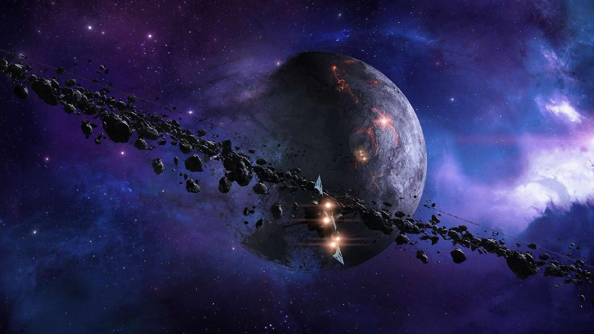 Скачать картинки космоса красивые для срисовки 12