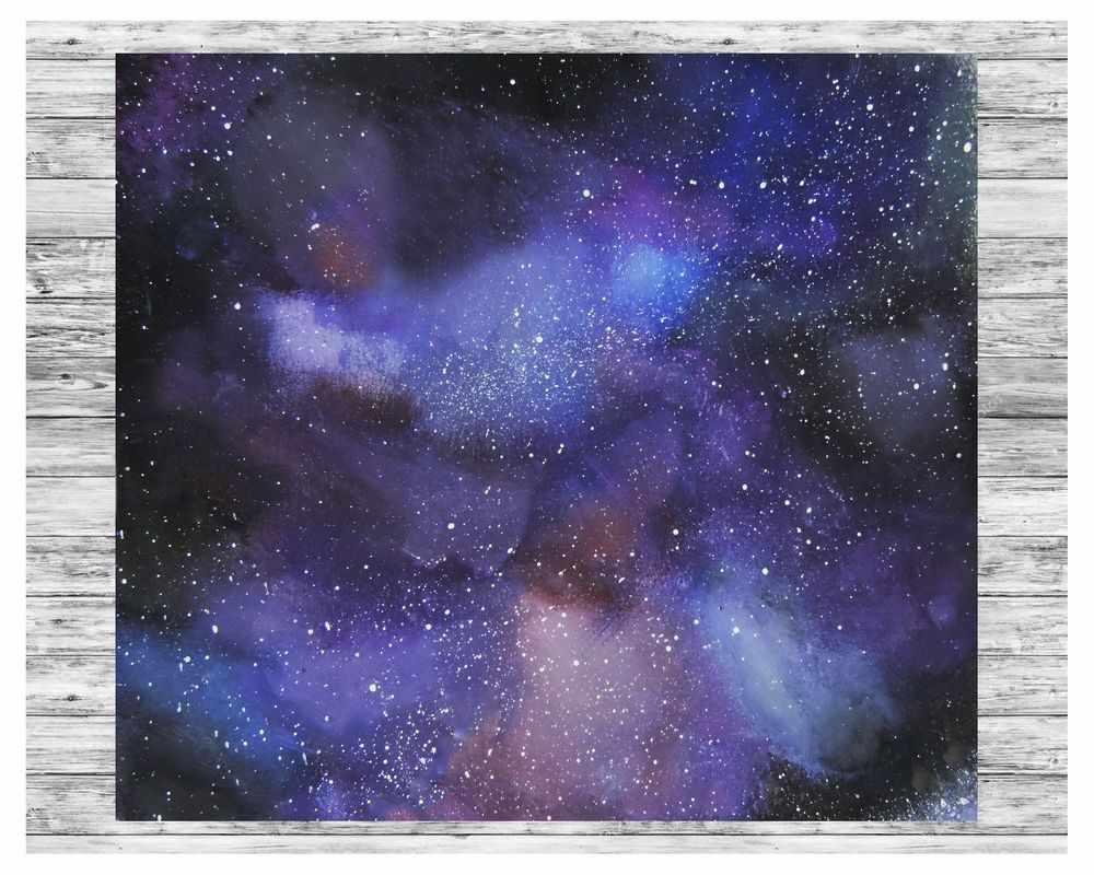 Скачать картинки космоса красивые для срисовки 15