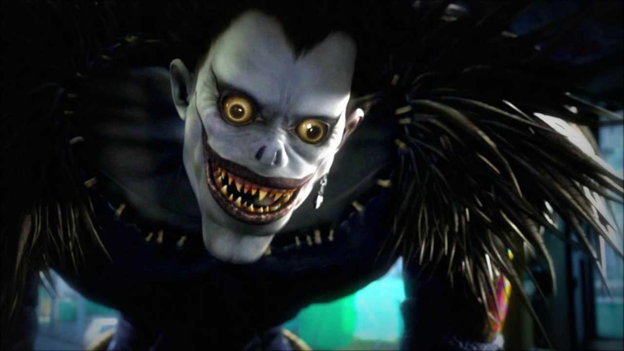 Страшный персонаж из фильма тетрадь смерти
