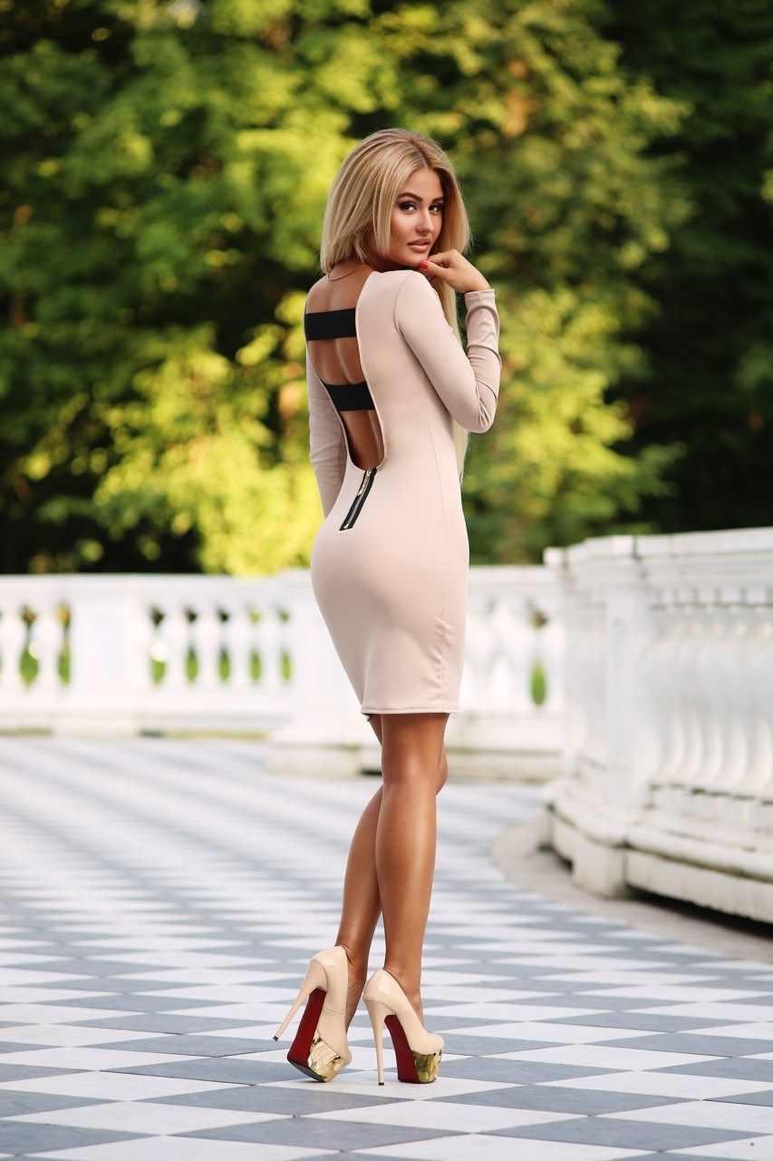 Фото девушек в красивых платьях, картинки 11