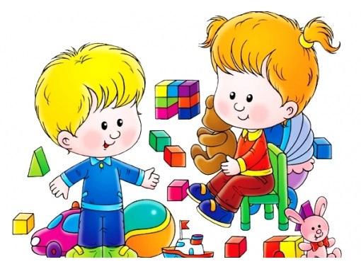 Веселые нарисованные картинки с детьми (10)