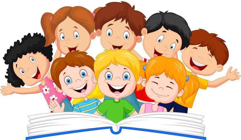Веселые нарисованные картинки с детьми (21)