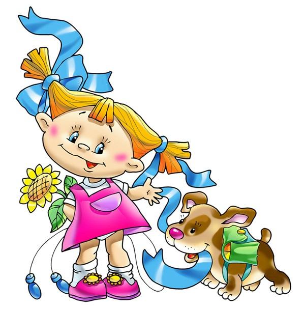 Веселые нарисованные картинки с детьми (3)