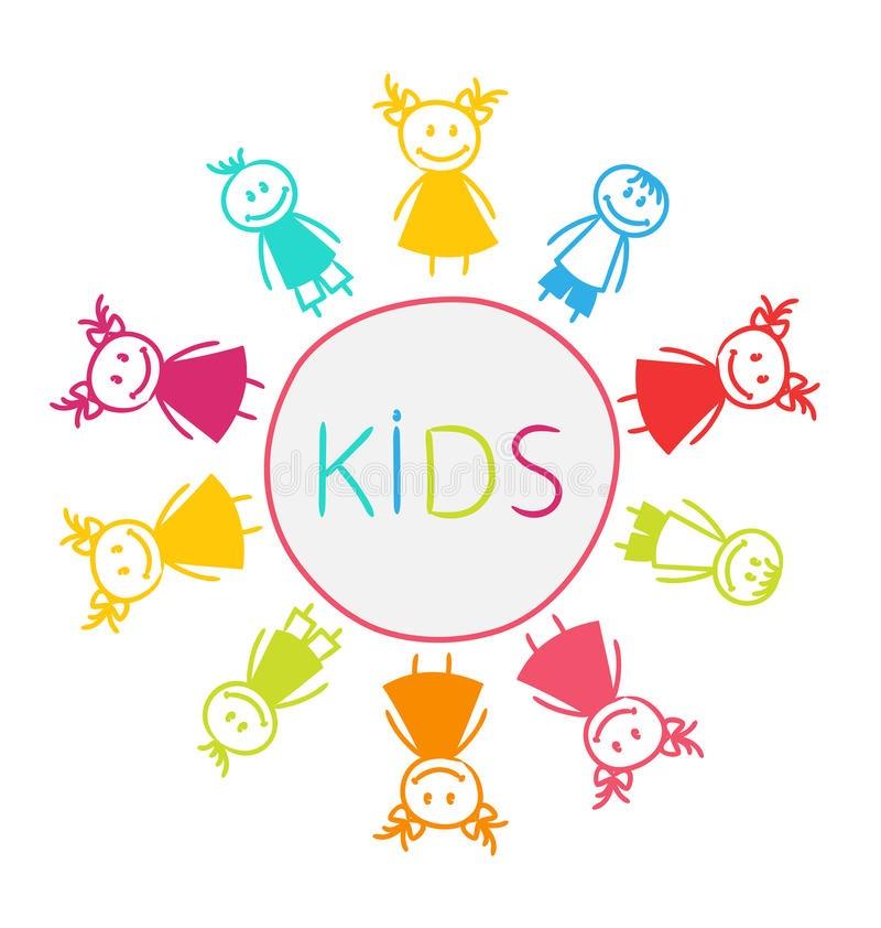 Веселые нарисованные картинки с детьми (6)