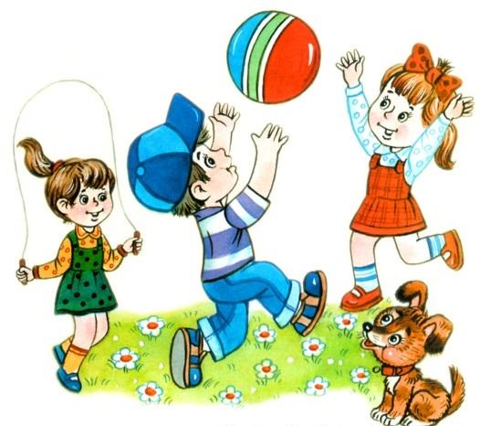 Веселые нарисованные картинки с детьми (8)