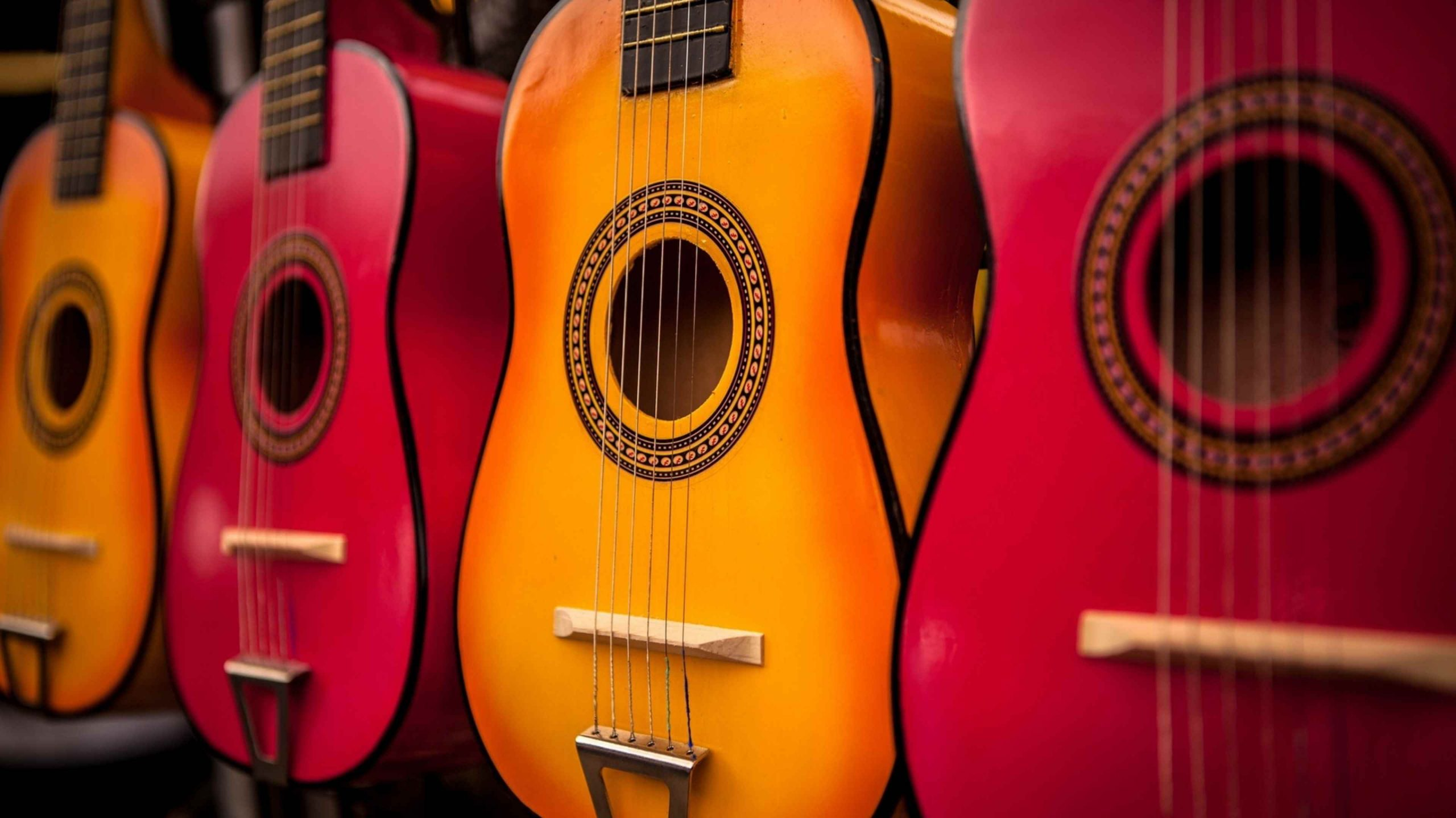 Красивая акустическая гитара фото, подборка 01