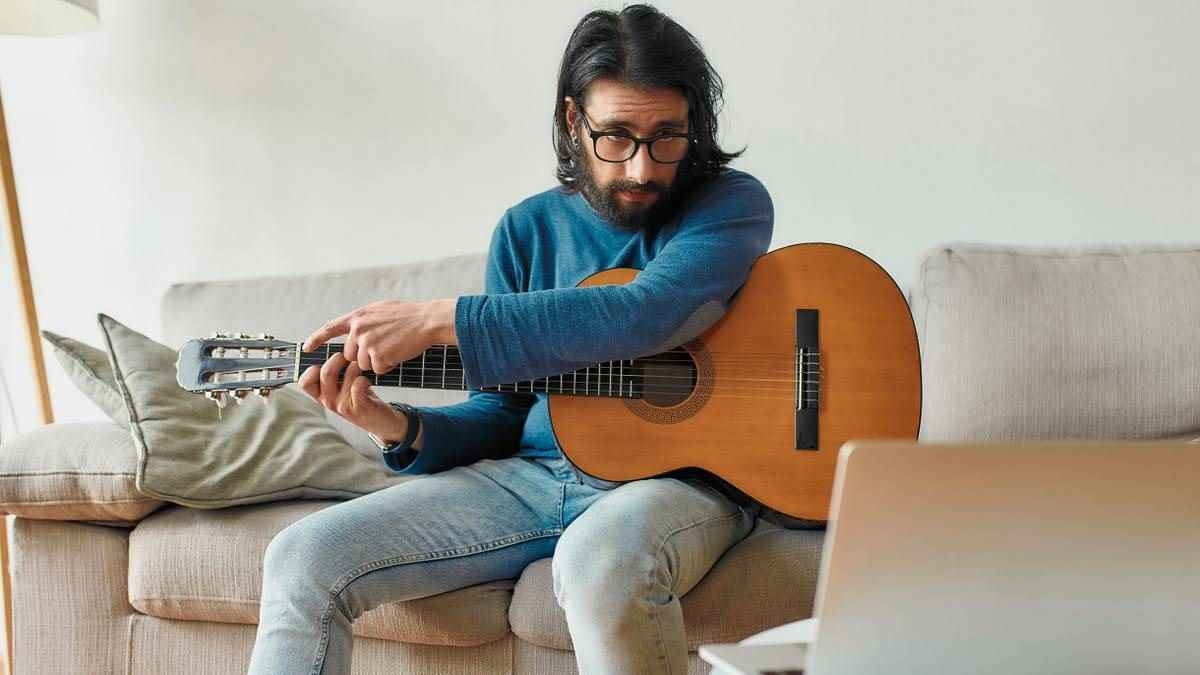 Красивая акустическая гитара фото, подборка 02