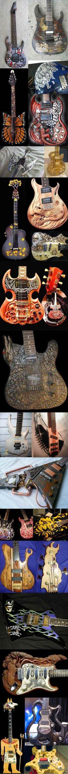 Красивая акустическая гитара фото, подборка 03