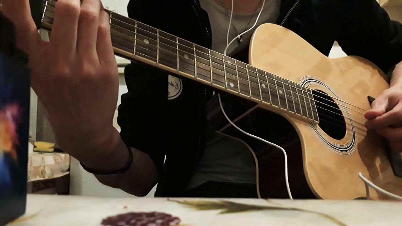 Красивая акустическая гитара фото, подборка 04