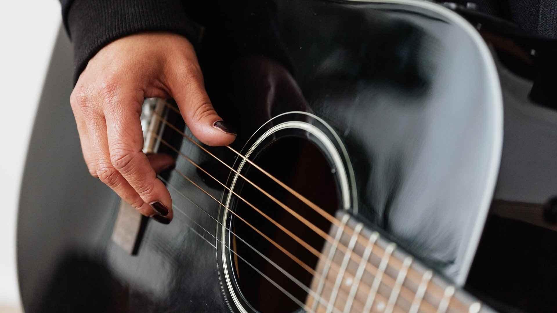 Красивая акустическая гитара фото, подборка 05