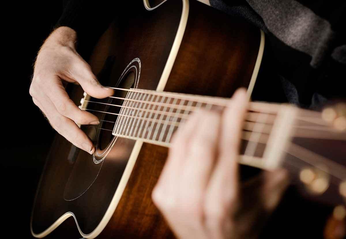 Красивая акустическая гитара фото, подборка 07