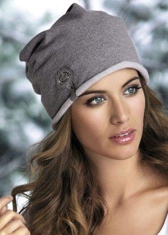 Красивые девушки фото в шапке (2)