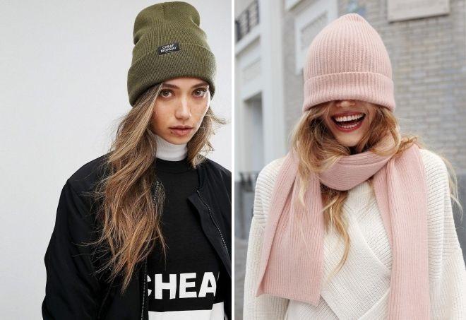 Красивые девушки фото в шапке (24)