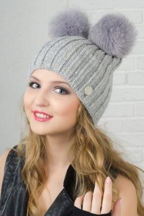 Красивые девушки фото в шапке (5)