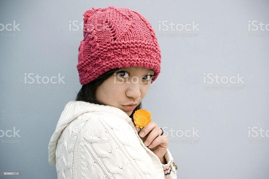 Красивые девушки фото в шапке (9)