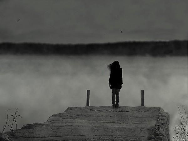 Лучшие фото черно белое грусть (13)