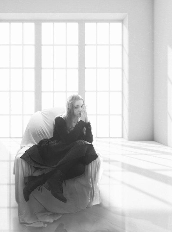 Лучшие фото черно белое грусть (6)