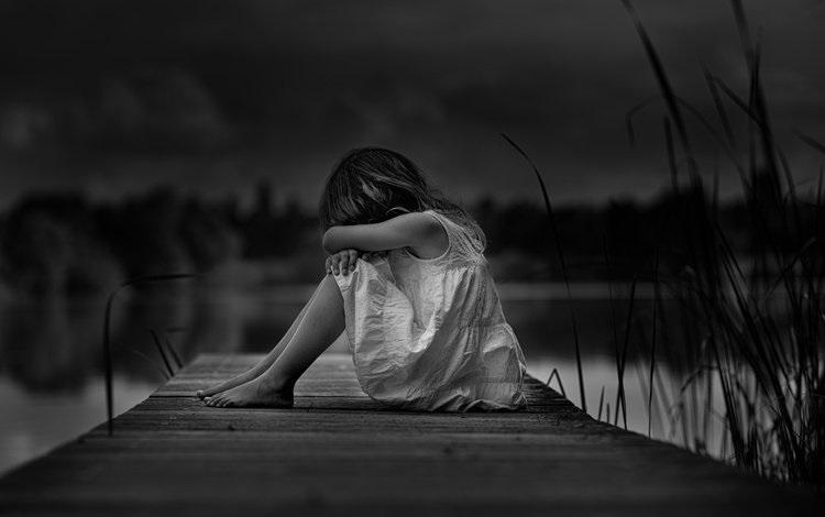 Лучшие фото черно белое грусть (7)