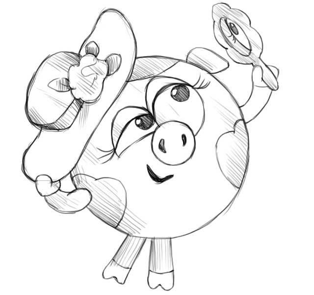 Рисунки из мультиков герои (17)