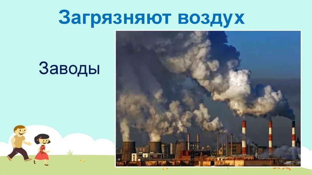 Что загрязняет воздух картинки (10)