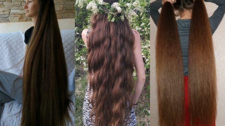 Девушка спиной с длинными волосами фото 2021 (14)