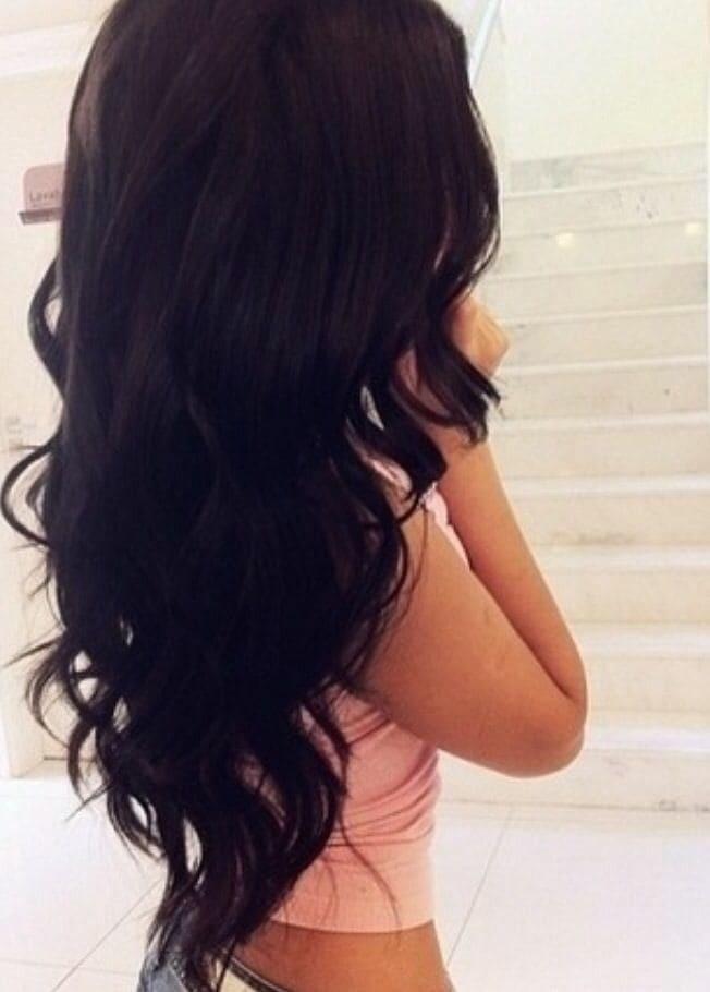 Девушка спиной с длинными волосами фото 2021 (26)