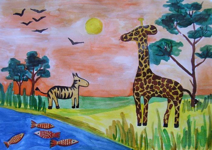 Интересные картинки для детей природа Африки (13)