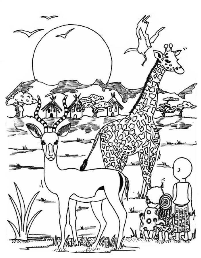 Интересные картинки для детей природа Африки (7)