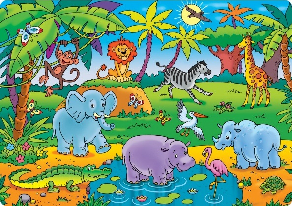 Интересные картинки для детей природа Африки (8)
