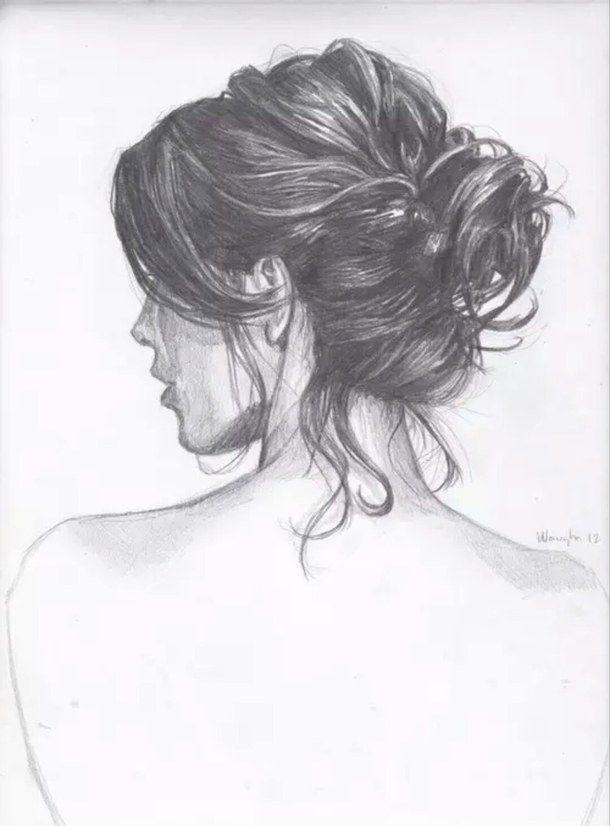 Картинки рисованные девушек брюнеток (9)