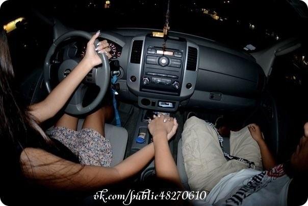 Лучшие фото девушка и парень за рулем (15)