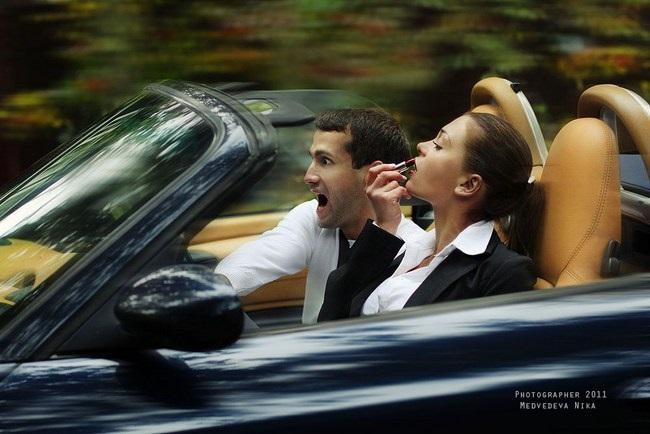 Лучшие фото девушка и парень за рулем (8)