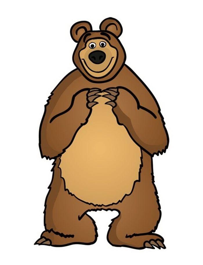 Медведь бурый картинка для детей (17)
