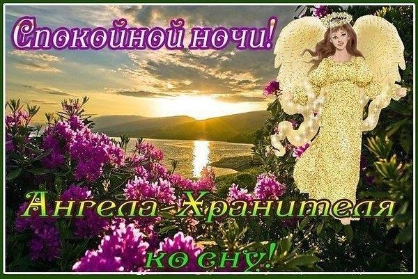 Милые открытки спокойной ночи ангел (1)