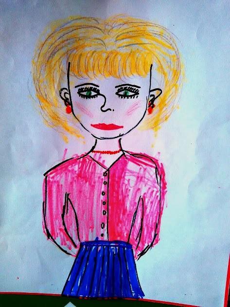 Мой любимый воспитатель, рисунки на эту тему (17)
