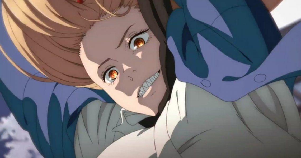 Мощь из аниме Человек с бензопилой