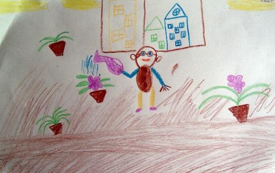 Рисование наш любимый детский сад (13)
