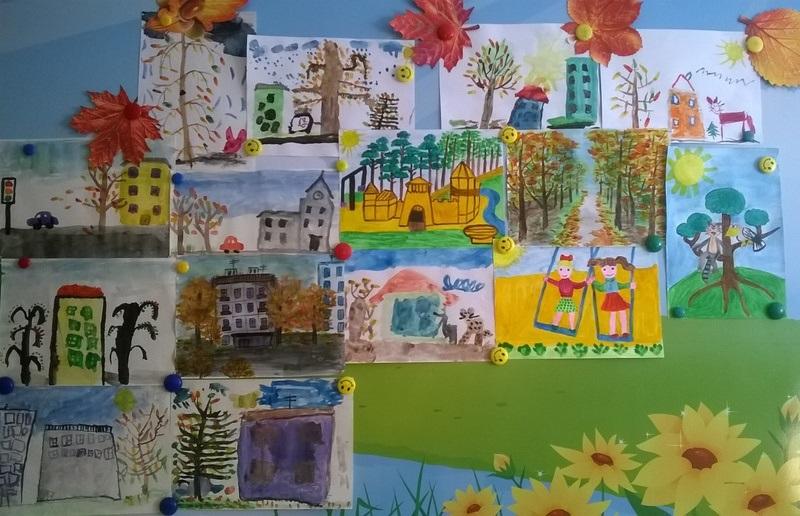 Рисование наш любимый детский сад (21)