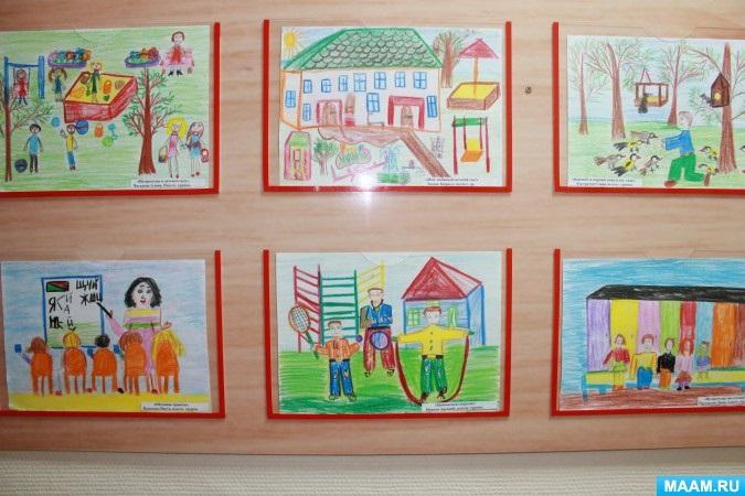 Рисование наш любимый детский сад (3)