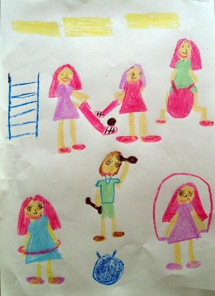 Рисование наш любимый детский сад (8)