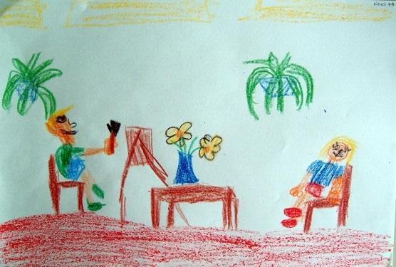 Рисование наш любимый детский сад (9)