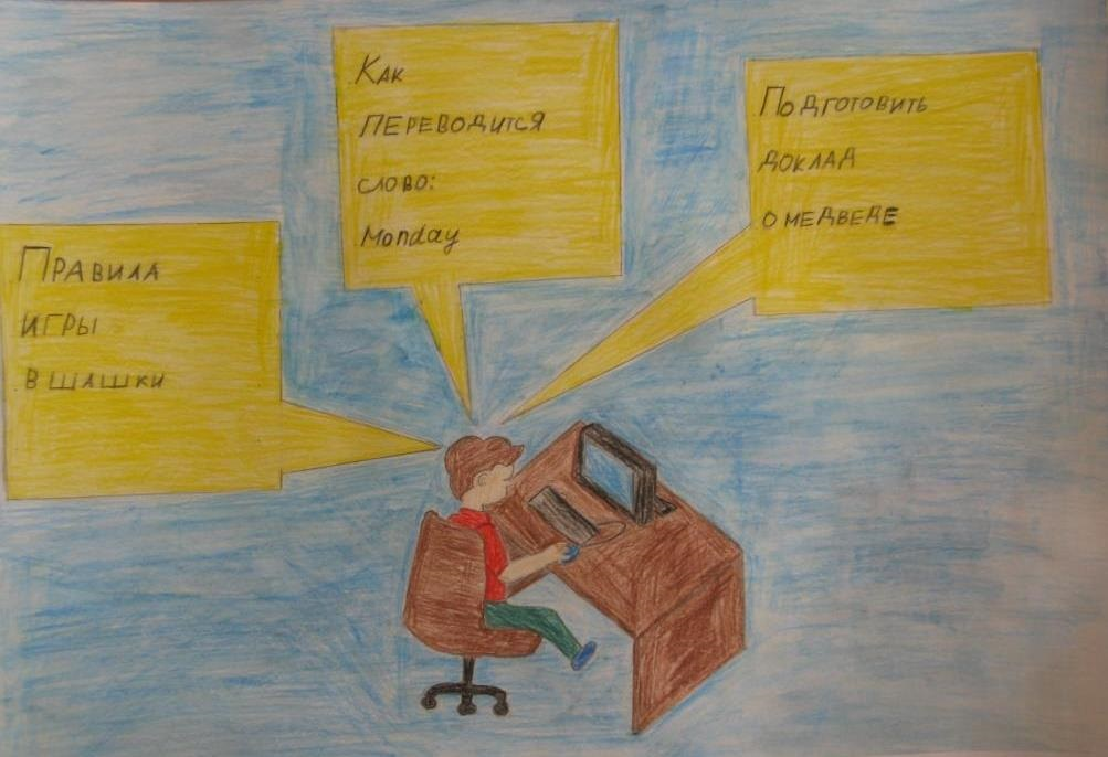 Рисунки на тему безопасный интернет (10)