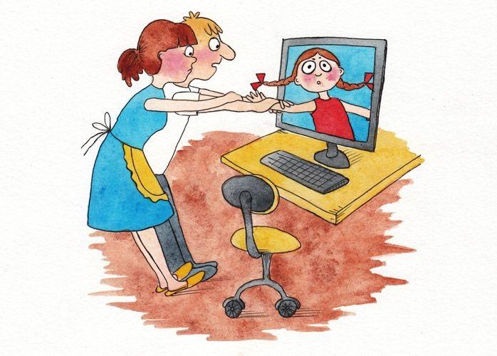 Рисунки на тему безопасный интернет (14)