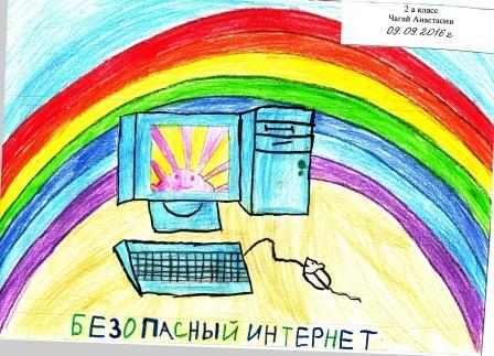 Рисунки на тему безопасный интернет (16)