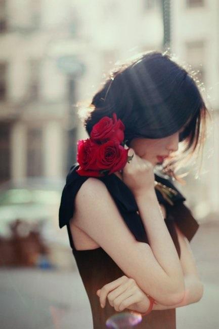 Романтичные фото девушек без лица (2)